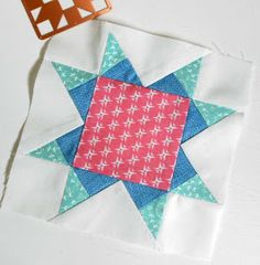 Farmer's Wife Block 4 - Ann (Patchsmith style)      Are you joining in the 1930s Farmer's Wife sew-alongs? There are two – one has alread...