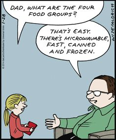 Real Life Adventures on GoComics.com #humor #comics #food