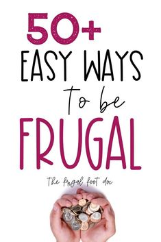 Sep 18, 2019 - Living frugally can be fun and easy to learn if you follow these simply frugal living hacks. Frugal living tips and ideas to save money and live simply.