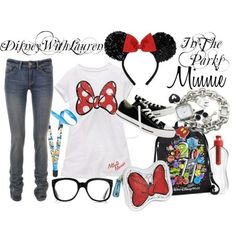 My go to outfit i would wear for my Disneyland trip ;)