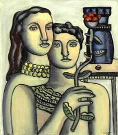 Fernand Leger (French, 1881-1955) - The Two Sisters, 1932