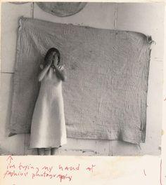 Francesca Woodman: I'M TRYING MY HAND AT FASHION PHOTOGRAPHY