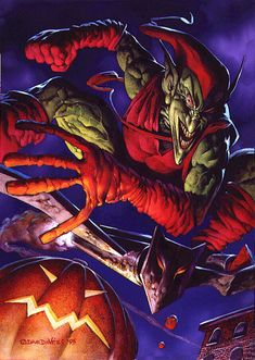 Green Goblin by Dave Devries