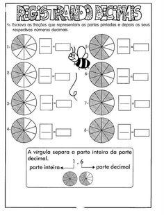 Blog Professor Zezinho : Atividades sobre frações para 5° ano