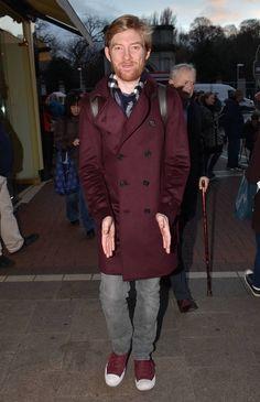 Domhnall Gleeson Daily — Domhnall Gleeson out in Grafton Street, Dublin...