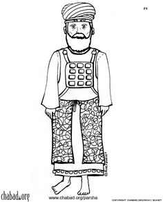 Building the Tabernacle Coloring Page | Building The Tabernacle Coloring Page