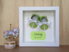 Hey, I found this really awesome Etsy listing at https://www.etsy.com/listing/269500339/nursery-decor-origami-baby-shoes-booties