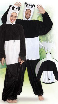 Panda. Pandan naamiaisasu on hyvä valinta esimerkiksi Penkkariasuksi vaikkei penkkaripäivänä välttämättä bambuja olekaan tarjolla.