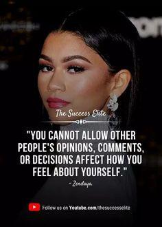 Top 35 Inspiring Zendaya Quotes To Be Yourself   The Success Elite