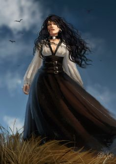 Yennefer by Erika-Xero.deviantart.com on @DeviantArt
