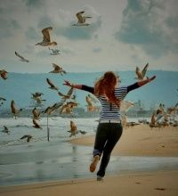 Be free and happy