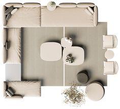 Sofa Layout, Furniture Layout, Sofa Furniture, Furniture Plans, Living Room Furniture, Furniture Design, Urban Furniture, Outdoor Furniture, Slim Console Table