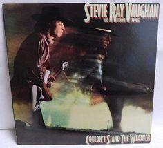 Stevie Ray Vaughan Couldn't stand the weather - Vintage Vinyl Record Album Electric Blues Rock Music lp 1984 Epic NM/NM Stevie Ray Vaughan Albums, Audiophile Music, Classic Album Covers, Vinyl Record Collection, Michael Art, Lp Cover, Vintage Vinyl Records, Blues Rock, Lp Vinyl