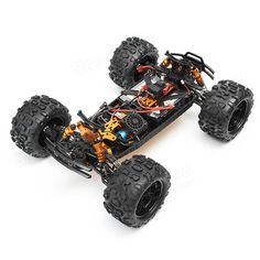 DHK 8382 Maximus 1/8 120A 85KM/H 4WD Brushless Monster Truck RC Car Sale - Banggood.com  #toys #aiplanes #quadcopters #drones #cars #models #electronics