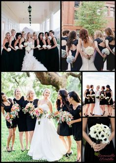 bridesmaid dresses dark robes de demoiselles d'honneur noir