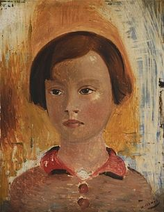 André Derain - Portrait of a Little Girl, 1928