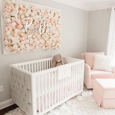 Nursery Design by Vanessa Antonelli Toddler Bed, Nursery, Furniture, Home Decor, Cribs, Homemade Home Decor, Cots, Day Care, Baby Beds
