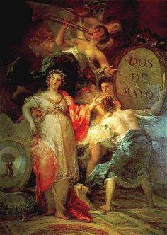 Goya. Alegoria ▓█▓▒░▒▓█▓▒░▒▓█▓▒░▒▓█▓ Gaby-Féerie : ses bijoux à thèmes ➜ http://www.alittlemarket.com/boutique/gaby_feerie-132444.html ▓█▓▒░▒▓█▓▒░▒▓█▓▒░▒▓█▓