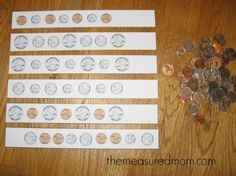 These coin activities will be a great addition to your money math lessons for ages 3-6.