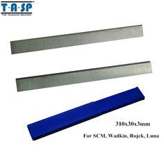 TASP HSS Wood Planer Knife Thickness Planer Blade 310x30x3mm Woodworking Power Tools Accessories For SCM Wadkin Rojek Luna