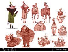 Nikolas Ilic: Designer / Visual Development Artist | Character Design