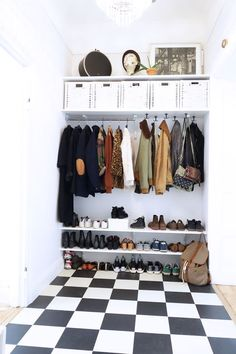 Home Decoration;Built In Wardrobe; Open Wardrobe, Wardrobe Closet, Shoe Closet, Wardrobe Organisation, Home Organization, Diy Built In Wardrobes, Decoration Hall, Diy Coat Rack, Coat Racks