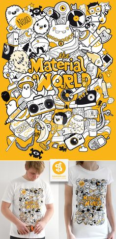 Material World Shirt by Bobsmade.deviantart.com