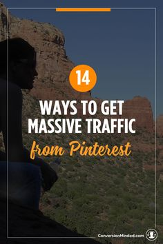 14 Ways to Get Massive Traffic from Pinterest | If you want to grow your business and get massive traffic from Pinterest, but aren't sure how to set up things like boards, pins and scheduling, then this post is for you! It includes 14 tips for bloggers and entrepreneurs to help your content get found my more people. Click through to check out all the tips!