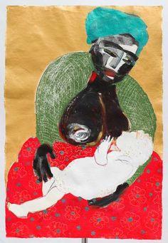 "Painting, ""Mother and child/Madonna Lactans"" Pastel Paper, Mixed Media Artwork, Mother And Child, Madonna, Saatchi Art, Original Paintings, Symbols, Fine Art, Art Prints"
