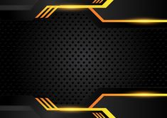 Overlap shape abstract gold black frame layout design tech with glitters and light effect Poster Background Design, Banner Background Images, Background Patterns, Vector Background, Youtube Banner Backgrounds, Cool Backgrounds, Abstract Backgrounds, Team Logo Design, Design Tech
