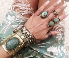 Bohemian fashion jewelry