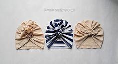 Mama Kreatywna: DIY: czapka turban z falbanką Baby Olivia, Baby Turban, Little People, Headbands, Upcycle, Applique, Hair Accessories, Sewing, How To Make