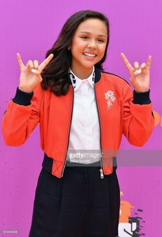 Actress Breanna Yde attends the Nickelodeon Kids' Choice Sports Awards 2017 at Pauley Pavilion on July 13, 2017 in Los Angeles, California.