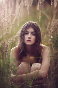 """Meadow lands"" by Nika Shatova (beautiful model, light and focus)"