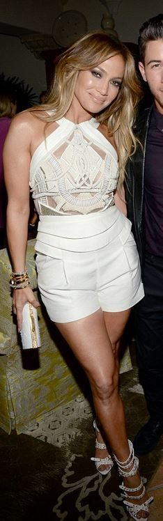 Who made Jennifer Lopez's white romper? | Liked by - http://www.chinasalessite.com – Wholesale Women's Clothes,Online Catalog,Ladies Clothing,Wholesale Women's Wear & Accessories. LOWEST PRICES ONLINE @ http://s.click.aliexpress.com/e/UvvFQ3zn2.