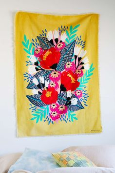 Jess Phoenix Artist Series Jungle Bird Tapestry - Urban Outfitters