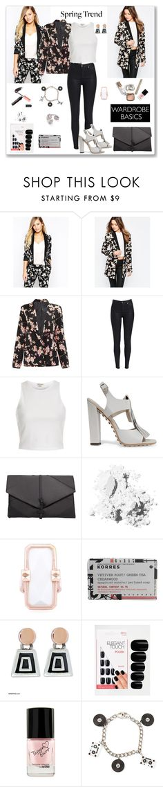 """Wardrobe Basics: Spring Jacket - 2"" by ludmyla-stoyan ❤ liked on Polyvore featuring Oasis, VILA, River Island, Tod's, MANGO, Bobbi Brown Cosmetics, Altruis by Vinaya, Korres, NOVICA and Elegant Touch"