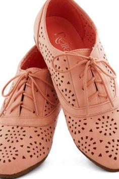 Love this pink!! Oxfords