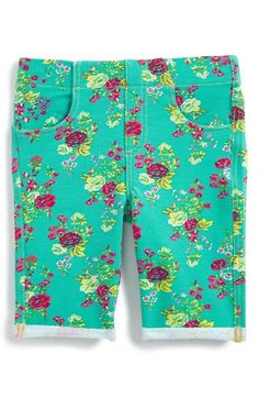 Tucker + Tate 'Jenna' Print Legging Shorts (Toddler Girls, Little Girls & Big Girls) available at #Nordstrom