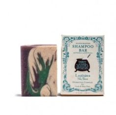 Lavender & Tea Tree Shampoo Bar - Hydration Formula for Curly/Wavy Hair - Soap Cauldron