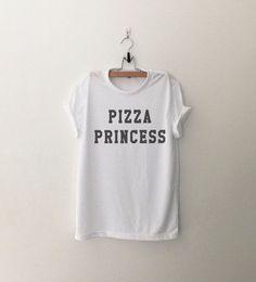 Pizza Princess T-Shirt womens girls teens unisex grunge tumblr instagram blogger punk hipster gifts merch