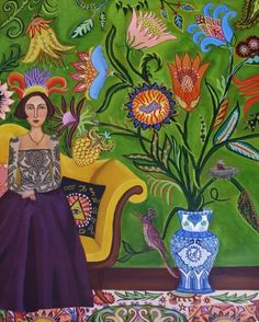 Emily's Horoscope for Today New original Painting, painting by artist Catherine Nolin