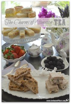 The Charms of Afternoon Tea