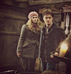Harry And Hermione at Bathilda Bagshot's house