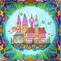 """""""#adultcoloringbook #adultcoloringbooks #adultcoloringbookph #prismacolor #coloredpencil #arttherapy #lostoceancoloringbook #lostocean #johannabasford…"""""""