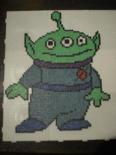 Alien Toy Story hama perler by marmotte88130