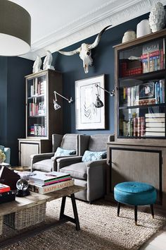 Bunny Turner Drawing Room - Living Room Design Ideas & Pictures (houseandgarden.co.uk)