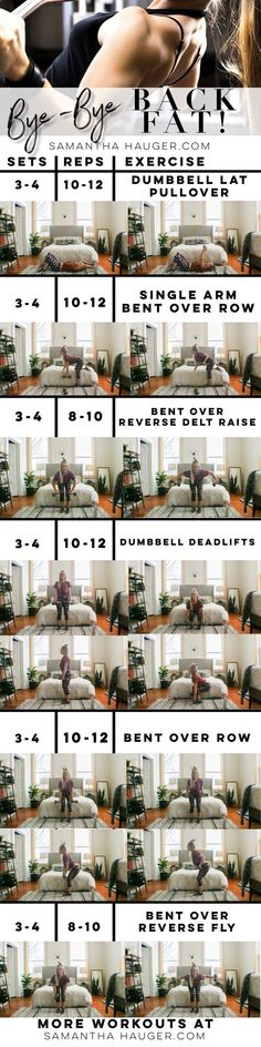 Belly Fat Workout - Gym  Entraînement : How To Get Rid Of Back Fat. How To Lose Back Fat. Exercises for back fat. Back w... Do This One Unusual 10-Minute Trick Before Work To Melt Away 15+ Pounds of Belly Fat