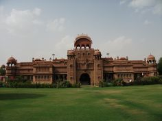 #Bikaner is a city in North-West #Rajasthan, India. It has developed into the fifth largest city in Rajasthan. It is bounded on the south by Marwar and Jaisalmer regions, on the east of Ajmer-Merwara. The imposing Palaces, beautiful and richly sculptured temple of red and yellow sand stones, display some  the finest creation of Rajput civilization. It's the lust for 'desert' that tickles every heart to visit Bikaner. Bikaner is famous for sweets and snacks.