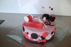 gateau couture pâte à sucre cake design